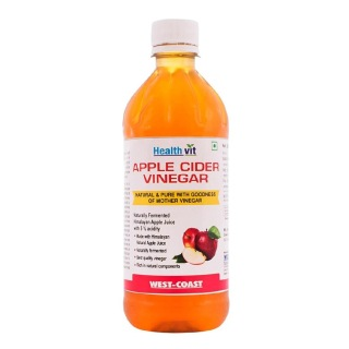 Healthvit Apple Cider Vinegar,  0.5 L  Unflavoured