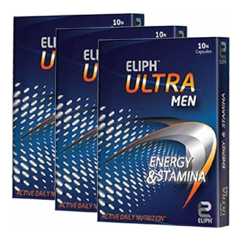 Eliph Ultra Men,  10 capsules  - Pack of 3
