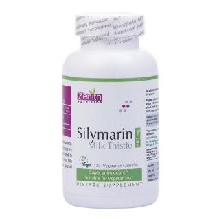 Zenith Nutrition Silymarin Milk Thistle (400 mg),  120 capsules