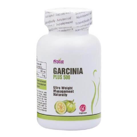 Zenith Nutrition Garcinia Plus (500mg),  60 veggie capsule(s)