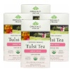 Organic India Tulsi Tea, Sweet Rose 18 Piece(s)/Pack - Pack of 4
