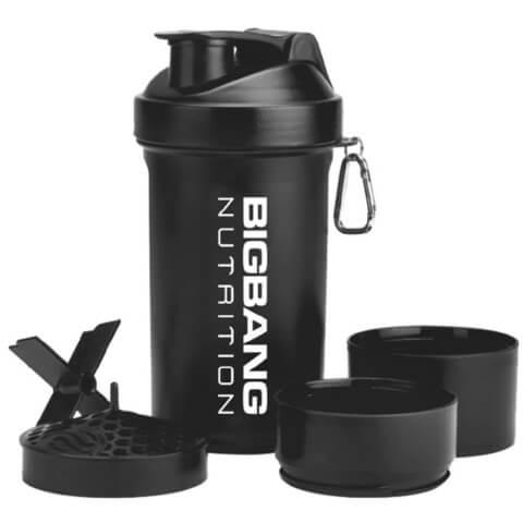 BigBang Nutrition Smart Shaker,  Black  600 ml