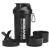 BigBang Nutrition Smart Shaker,  Black  600 Ml