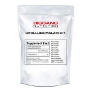 BigBang Nutrition Citrulline Malate 2:1,  0.22 lb  Unflavoured