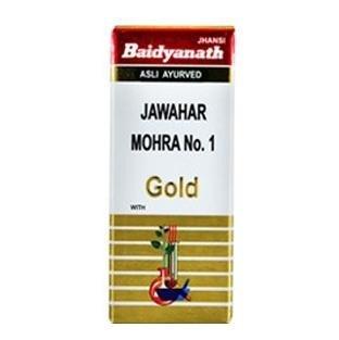 Baidyanath Jawahar Mohra No.1 with Gold,  10 tablet(s)