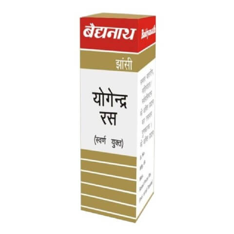 Baidyanath Yogendra Ras with Gold,  10 tablet(s)