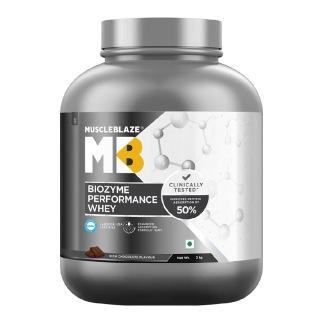 2 - MuscleBlaze Biozyme Performance Whey,  4.4 lb  Rich Chocolate