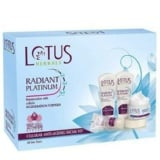 Lotus Herbals Radiant Platinum Facial Kit,  1 Piece(s)/Pack  Anti-Ageing