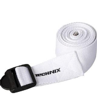 Technix Yoga Strap,  White  Standard