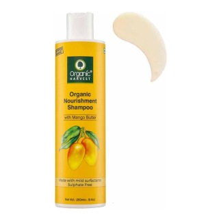1 - Organic Harvest Organic Nourishment Shampoo,  250 ml  for All Types of Hair