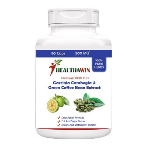 Healthawin Garcinia & Green Coffee Bean,  90 capsules  Unflavoured