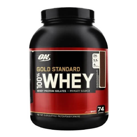 ON (Optimum Nutrition) Gold Standard 100% Whey Protein,  5 lb  Double Rich Chocolate