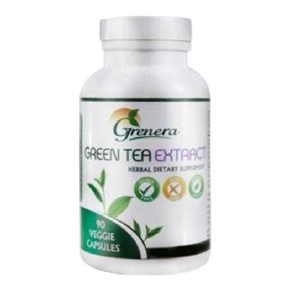 Grenera Green Tea Extract Capsules, 90 veggie capsule(s) Unflavoured
