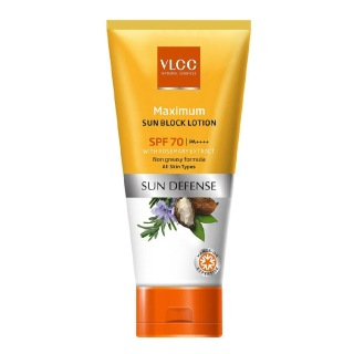 VLCC Maximum Sun Screen Lotion SPF 70,  60 g  Sun Defense