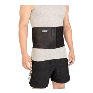 Orthotech Sacro Lumbar Support (OR6118),  Black  Free Size