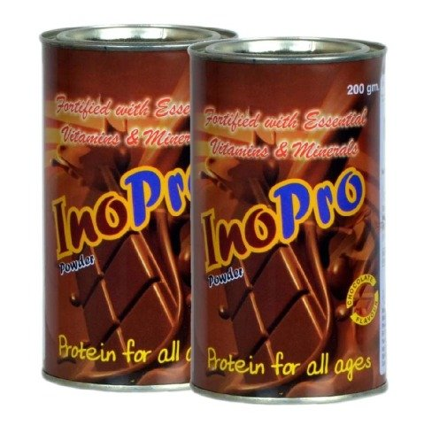Radicura InoPro - Pack of 2, 200 g Chocolate
