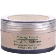 Herbline Gold & Saffron Massage Cream,  25 g  for Normal to Dry Skin