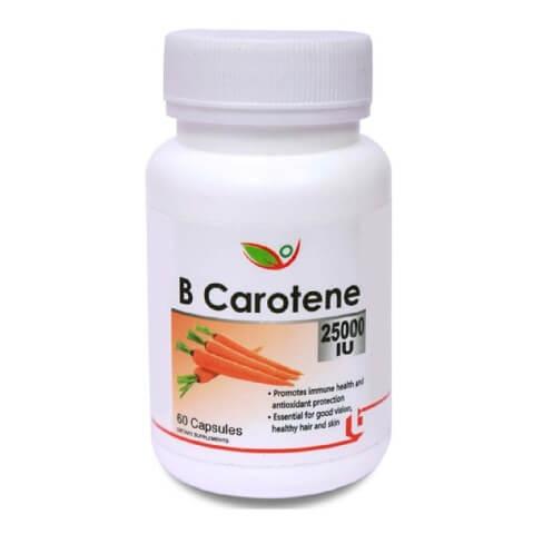 Biotrex B Carotene (25000 IU),  60 capsules