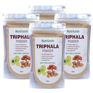 NutriLeon Triphala Powder - Pack of 4, 100 g