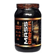 Muscle Effect Ultimate Mass Gainer,  Chocolate  2.2 lb