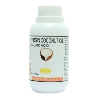 Kausthubha Virgin Coconut Oil,  60 softgels