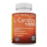 Berserker L-Carnitine 1000,  120 capsules  Unflavoured