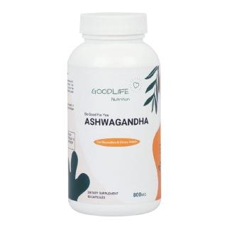 1 - Goodlife Nutrition Ashwagandha 800 mg,  60 capsules