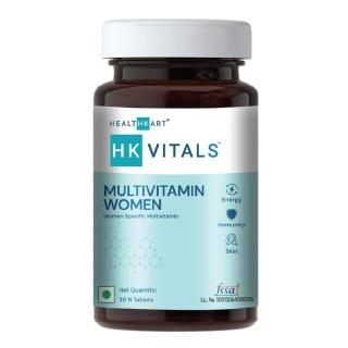 3 - HealthKart Multivitamin Women with Ginseng, Ginkgo Biloba, Soya-Isoflavones & Lycopene,  30 tablet(s)  Unflavoured