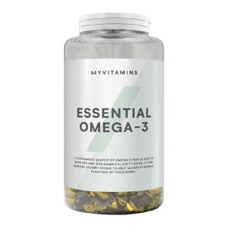1 - Myprotein Essential Omega-3,  250 softgels