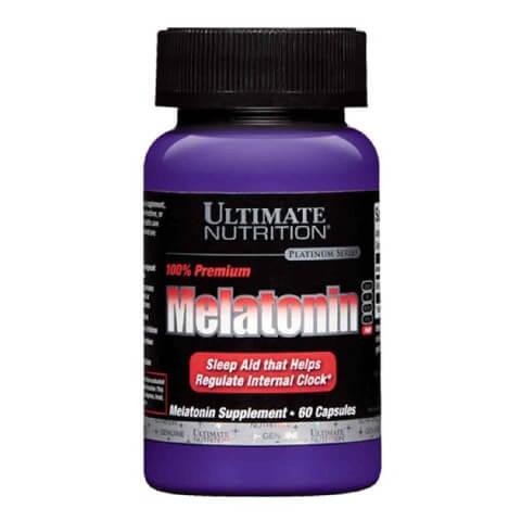 Ultimate Nutrition Premium Melatonin,  60 capsules
