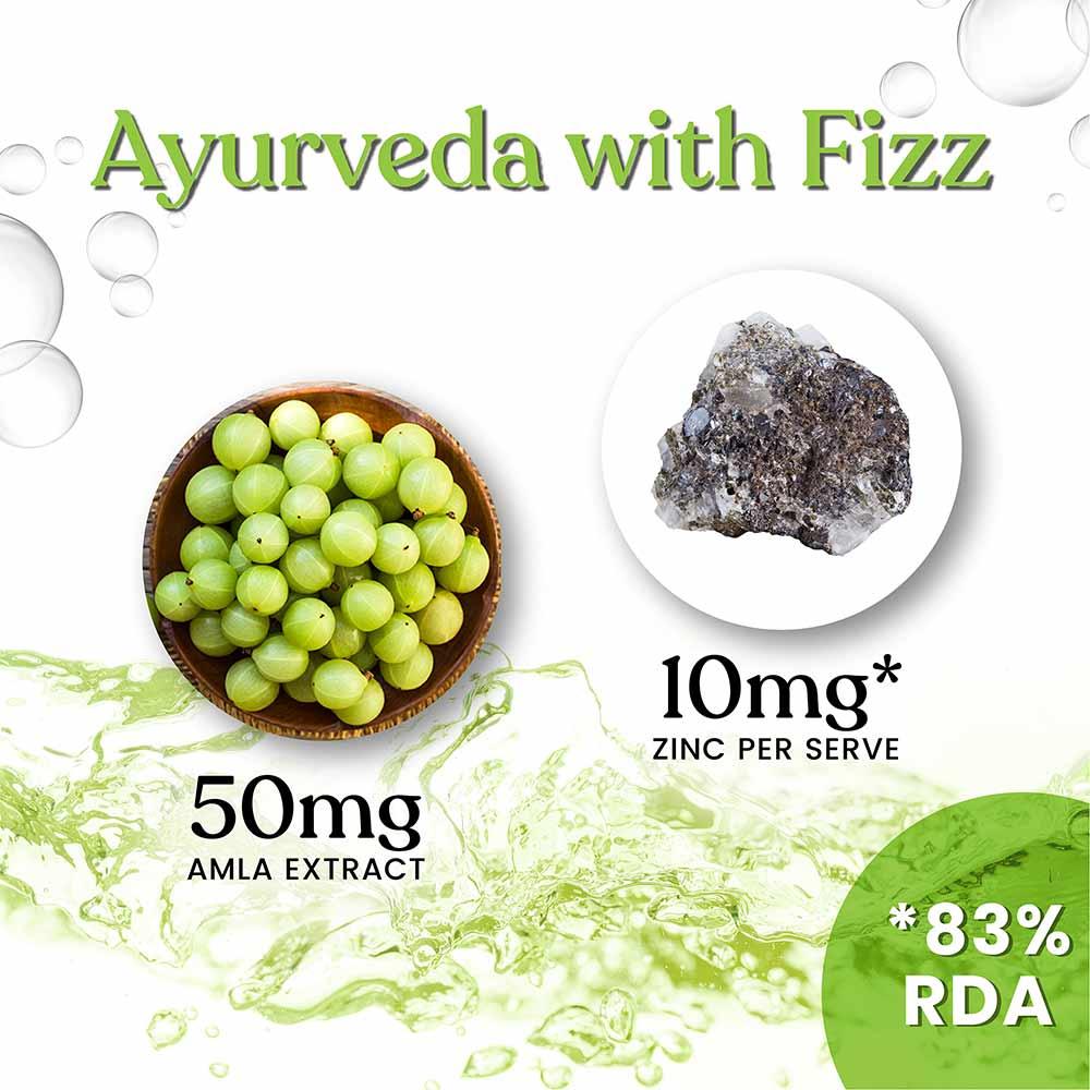 7 - Kapiva Amla & Zinc Fizz - Lime Flavour,  100 g