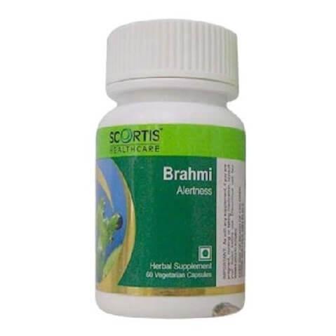 Scortis Brahmi,  60 veggie capsule(s)