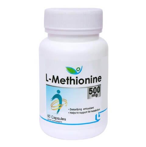 Biotrex L-Methionine (500 mg),  60 capsules