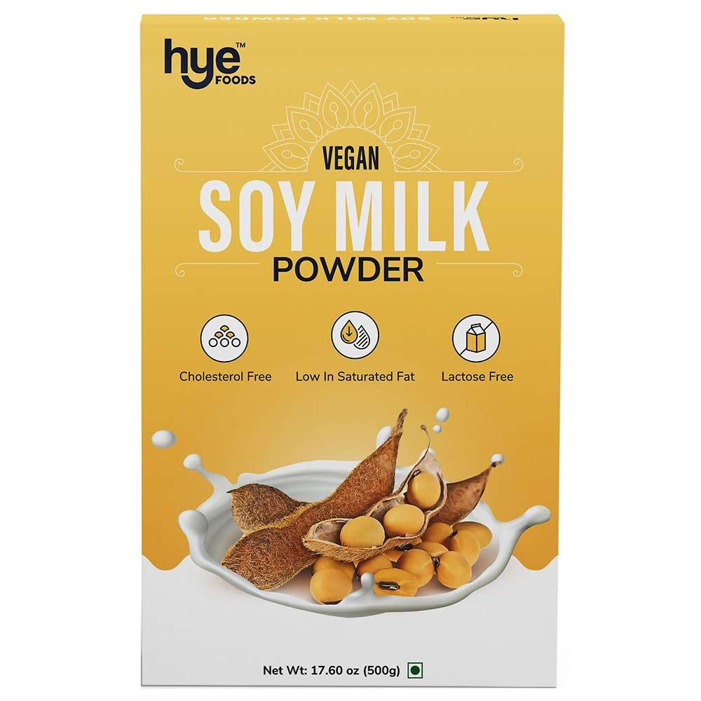 1 - Hye Foods Vegan Soy Milk Powder,  500 g  Natural