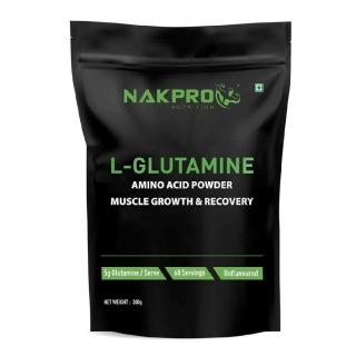 1 - Nakpro L-Glutamine,  0.66 lb  Unflavoured
