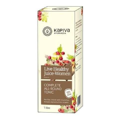 Kapiva Live Healthy Juice - Women,  Natural  1 L