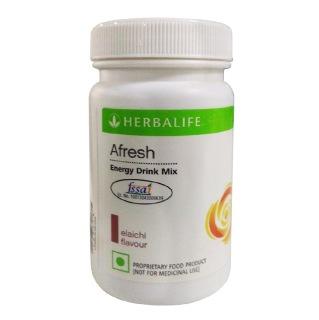 Herbalife Afresh Energy Drink Mix,  0.05 kg  Elaichi