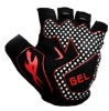 KOBO Weightlifting Gym Gloves (CG-03),  Black  Small