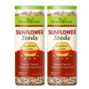 NourishVitals Roasted Sunflower Seeds - Pack of 2 Natural 0.150 kg