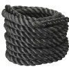 B Fit USA Battle Rope,  30 ft  Black