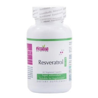 Zenith Nutrition Resveratrol (500 mg),  30 capsules