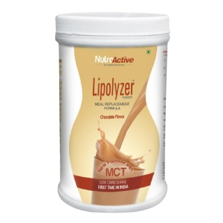 NutroActive Lipolyzer Meal Replacement,  1 lb  Chocolate