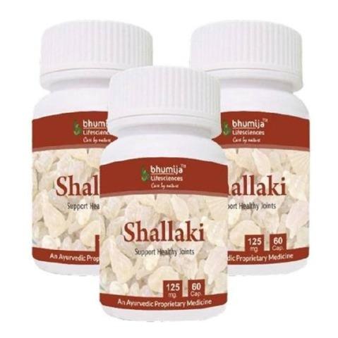 Bhumija Shallaki, 60 capsules - Pack of 3