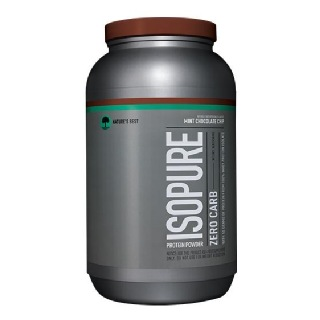 Isopure Zero Carb Protein Powder,  3 lb  Mint Chocolate Chip