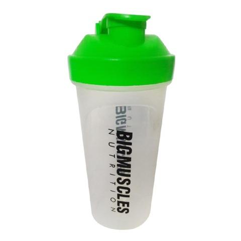 Big Muscles Shaker,  White & Green  600 ml