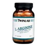 TWINLAB L-Arginine 500mg,  100 capsules