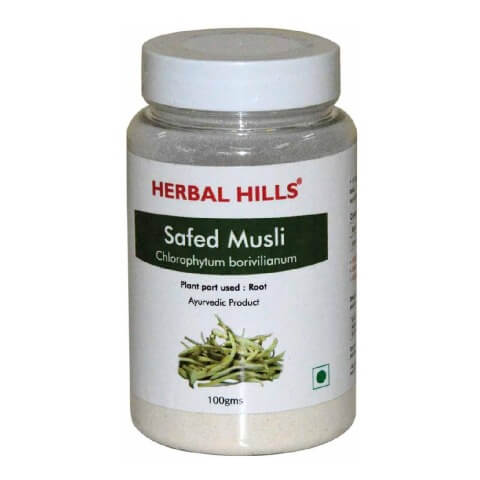 Herbal Hills Safed Musli,  0.1 kg