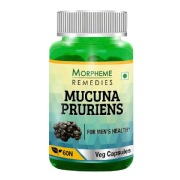 Morpheme Remedies Mucuna Pruriens (500 mg),  60 veggie capsule(s)