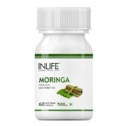 INLIFE Moringa Leaf Extract (500 mg),  60 veggie capsule(s)