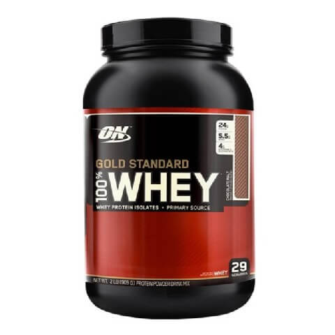 ON (Optimum Nutrition) Gold Standard 100% Whey Protein,  2 lb  Chocolate Malt
